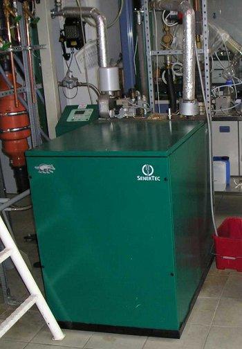 Foto BHKW für Algen Biomasse