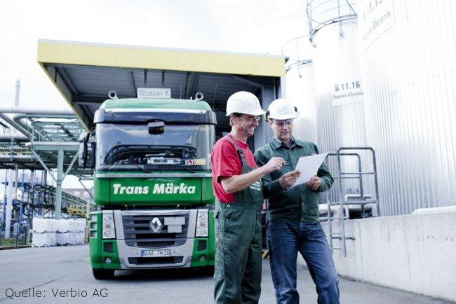 Biodiesel Produktion Verbio AG Bitterfeld