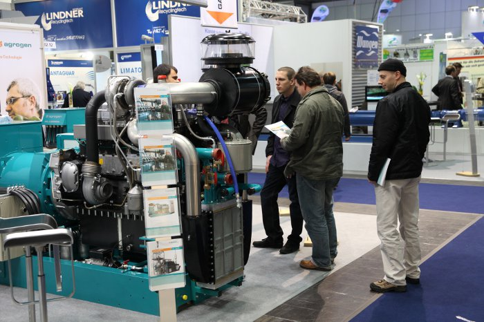 BHKW-Biogas-Aussteller