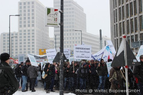 Foto Berliner Aktionstag Biogas