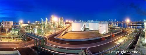NextBtl Biodiesel Anlage von Neste Oil in Rotterdam