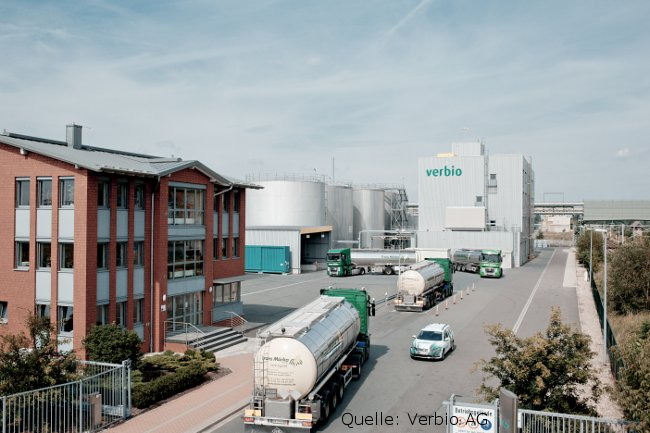 Foto: Biodiesel Transport Bitterfeld Verbio