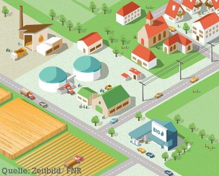 Graphic: Bioenergy compact information brochure