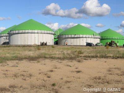 Foto Bioerdgas-Anlage in Schwedt