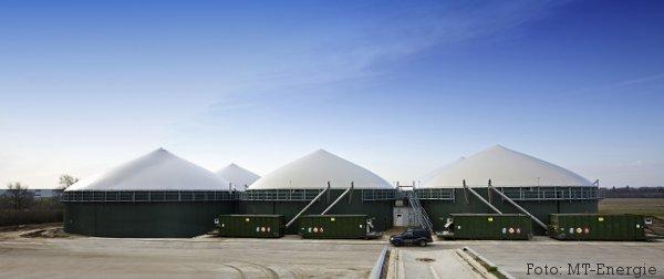 Foto: Biogasanlage produziert Biogas