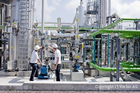 Biogasanlage Verbio AG Zörbig
