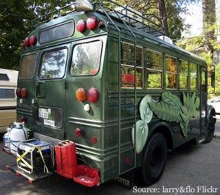 Biokraftstoff Geländewagen