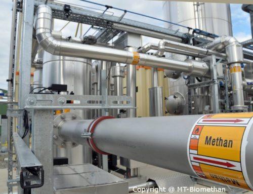 MT-BioMethan schliest Liefervertrag über 50 Millionen kWh Biomethan ab