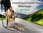 Foto Deutschland Frankreich Biogas Tandem