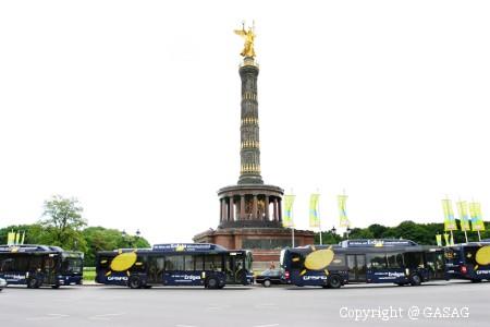 Bioerdgas an der Berliner Siegessäule