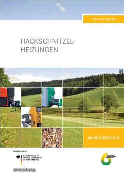 Cover Marktübersicht Hackschnitzel Heizungen 2012
