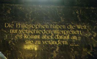 Foto Humbold Universität Karl Marx