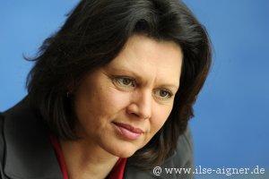 Bundeslandwirtschaftsministerin Ilse Aigner