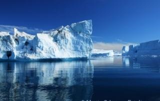 Eisberg als Informations-Insel