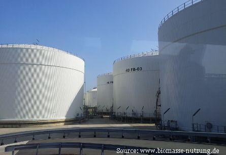 Biokraftstoffe in Rotterdam Neste Oil Anlage