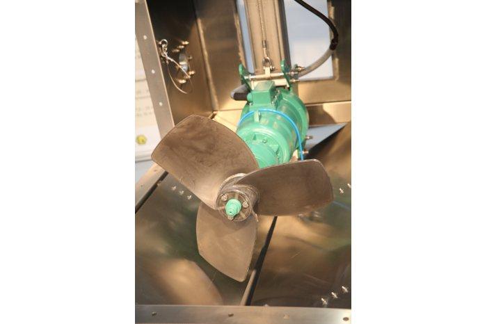 Rührwerk-Biogasanlage