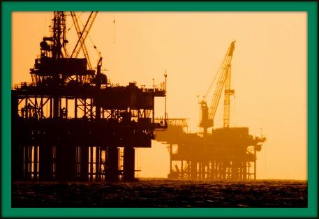 Ölplattform Erdöl