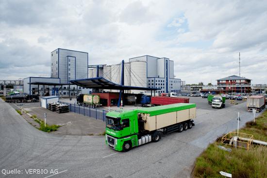 Foto Verbio AG Produktionsstandort Schwedt