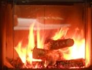Verbrennung Scheitholz