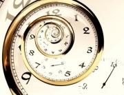 Grafik Zeit Spirale Uhr