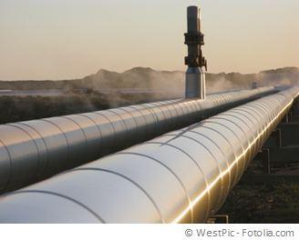 Gasleitung für Bioerdgas und Biomethan