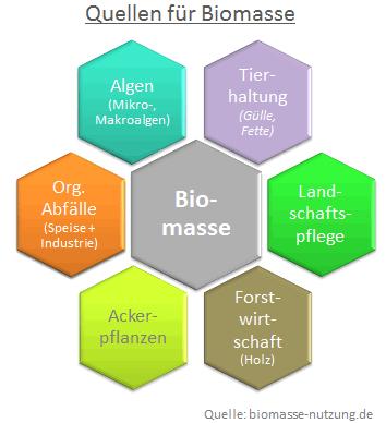 Übersicht Grafik Tierhaltung Organische Abfälle Bioenergie