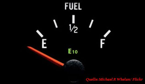 Ethanol E10 Benzin-Gipfel Tankstelle Verträglichkeit Biokraftstoff Motorschaden