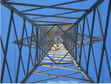 Netzausbau für Einspeisung von Strom aus Sonnenenergie Windparks und Biogasanlagen